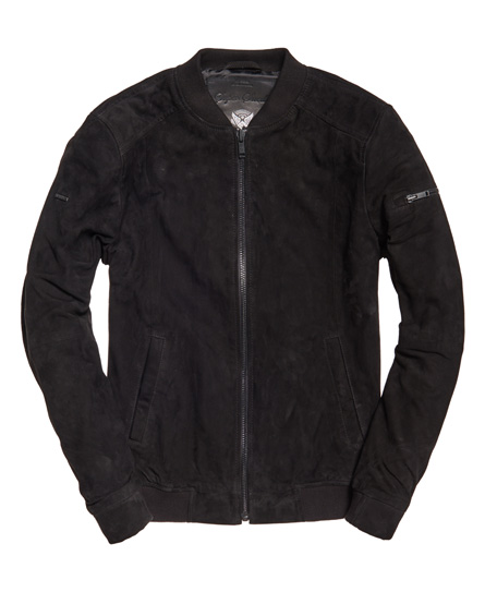 Superdry Ryan Suede Bomber Jacket