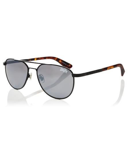 black Superdry Warrior Sunglasses