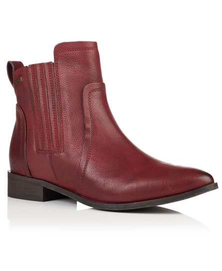 oxblood Superdry Margot Chelsea Boots