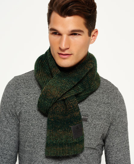 Superdry Surplus Goods Ombre Scarf Green
