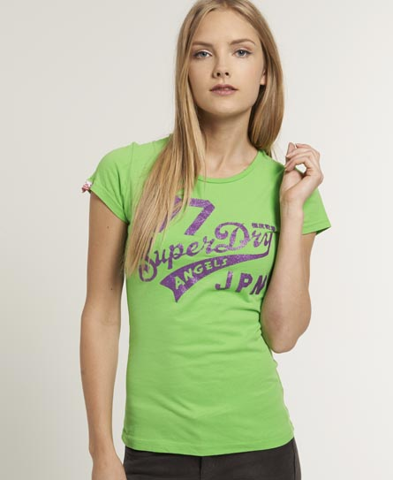 Superdry Angels T-shirt Green