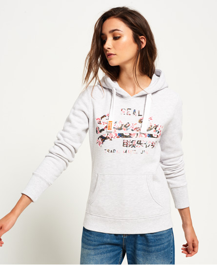 Superdry Vintage Logo Cut Out Hoodie