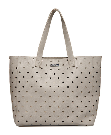 grey Superdry Spot Elania Tote Bag