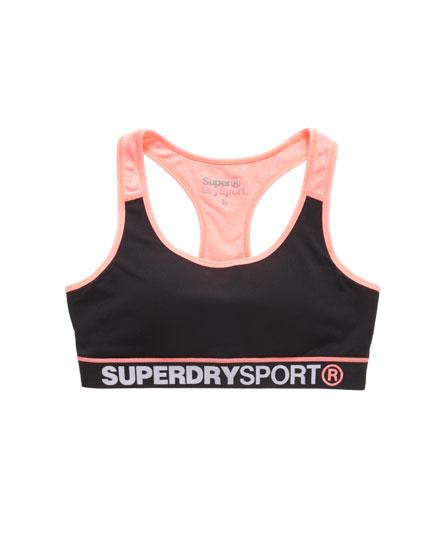 Superdry Gym Panelled Sports Bra