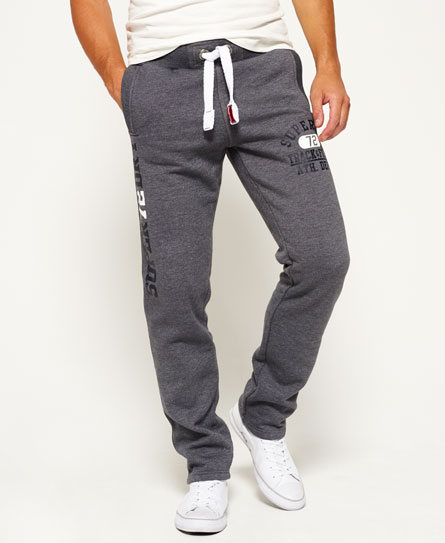 slate grey grindle Superdry Trackster Non Cuffed Joggers