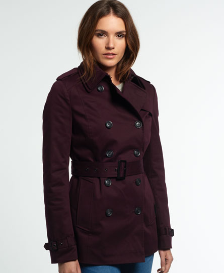 fig Superdry Winter Belle Trench Coat