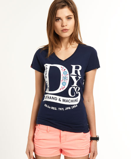 Superdry Gypsy T-shirt Blue