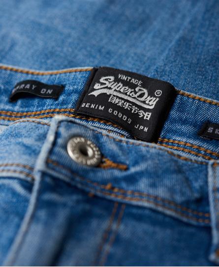 Superdry Spray On Skinny Jeans