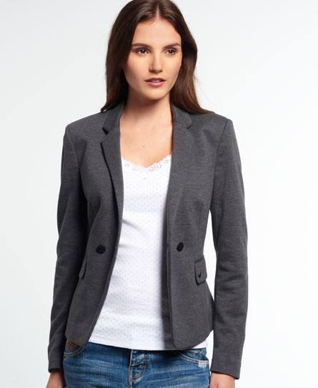 Superdry Pippa Jersey Blazer - Women's Jackets & Coats
