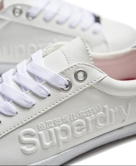 Superdry Super Sleek Logo Low Top Trainers