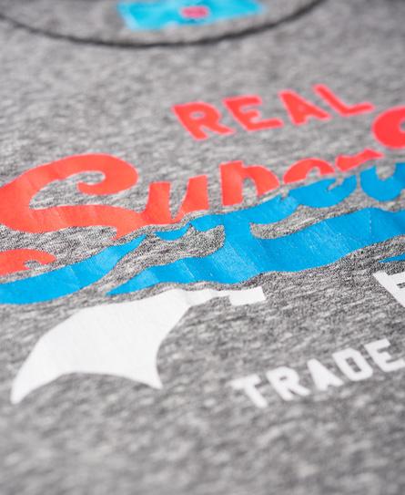 Superdry Vintage Logo Splice T-Shirt