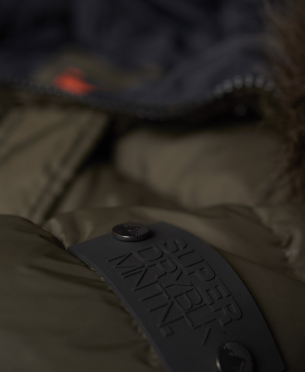 Superdry Longline Down Chinook Parka Jacket