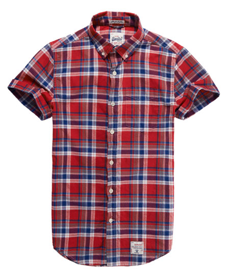 Superdry Dry Oxford Shirt Red