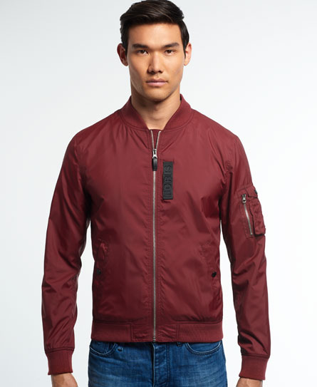 Superdry IE Flight Bomber Jacket - Mens Idris Jackets and Coats