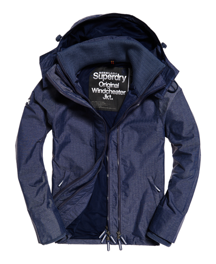 Pop Zip Hooded Technical Windcheater Jacket