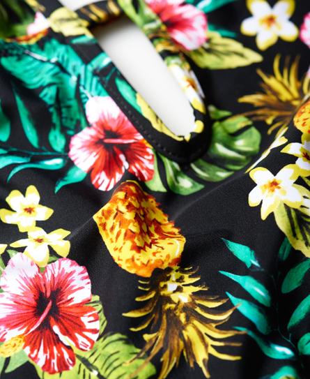 Superdry Aloha Badeanzug mit Ananas-Print