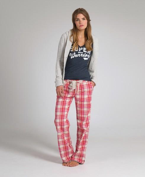 Superdry Lumberjack Lounge Pants Pink