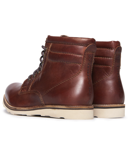Chaussures Superdry Stirling Sleek Dark Chestnut BNtfO9abCr