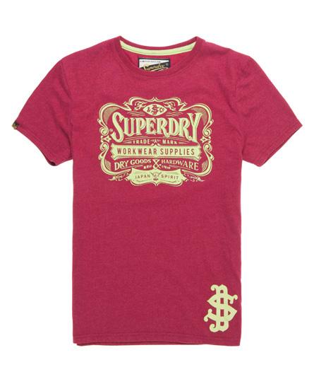 Superdry Japan Spirit T-shirt Pink