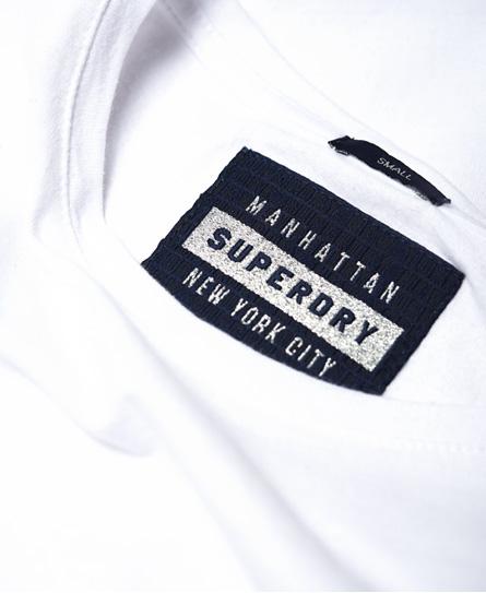 Superdry Top à empiècements en dentelle Pacific