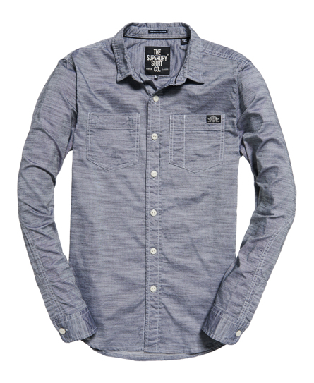 Superdry Furnace Riveter Long Sleeved Shirt