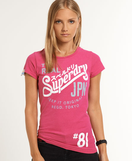 Superdry Keep It T-shirt Red