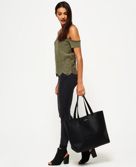 Superdry Cross Stitch Elaina Tote Bag