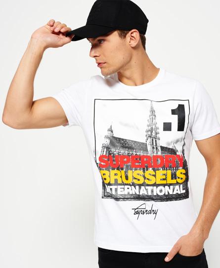 Box Photo City Brussels T-shirt
