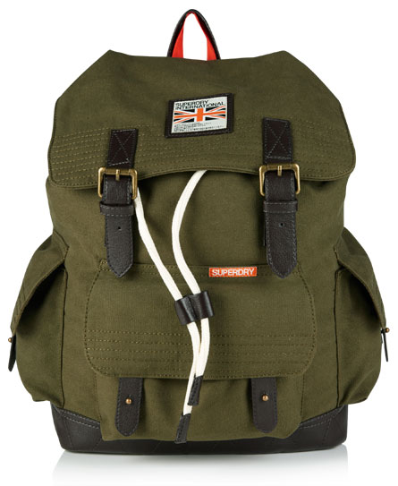 Superdry Rookie Scoutpack Green