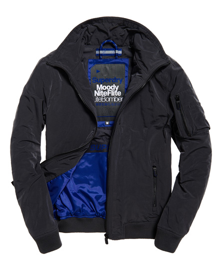 Superdry Moody Night Flight Lite Bomber Jacket