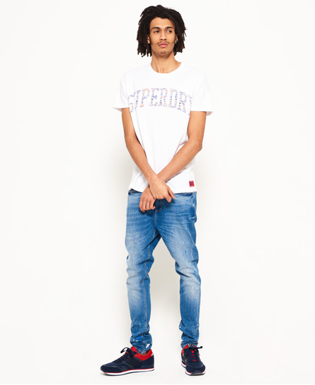 Superdry Varsity Embossed T-Shirt