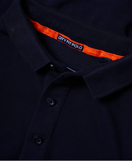 Superdry City Jaquard Pique Polo Shirt