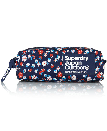 Superdry Pencil Case Navy