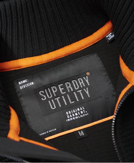 Superdry Stockholm Pullover mit versiegeltem Reißverschluss