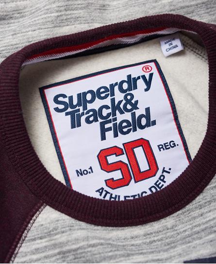 Superdry Pull ras du cou Trackster Baseball