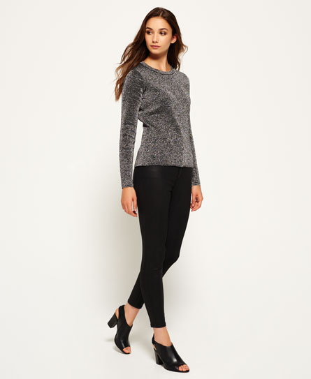 Superdry Metallic Sparkle Knit Jumper