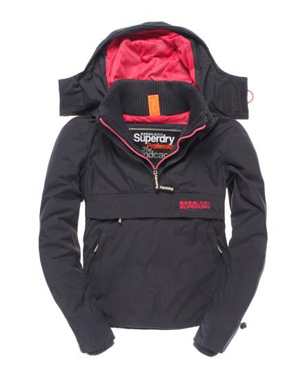 superdry chubasquero pop zip wind chaquetas y abrigos. Black Bedroom Furniture Sets. Home Design Ideas
