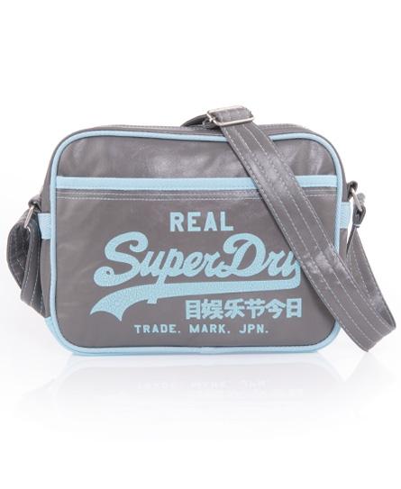 Superdry Alumni Mini Bag Grey