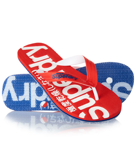 Superdry Mainline Thongs Red