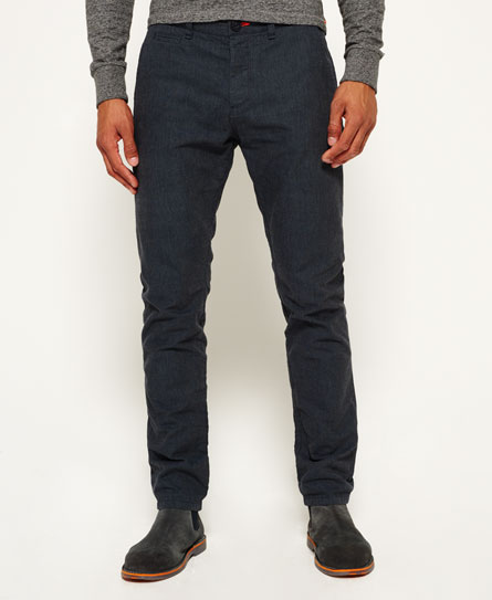 grey/dark navy Superdry International Chinos