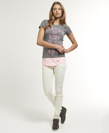Superdry Standard Skinny Jeans Pink