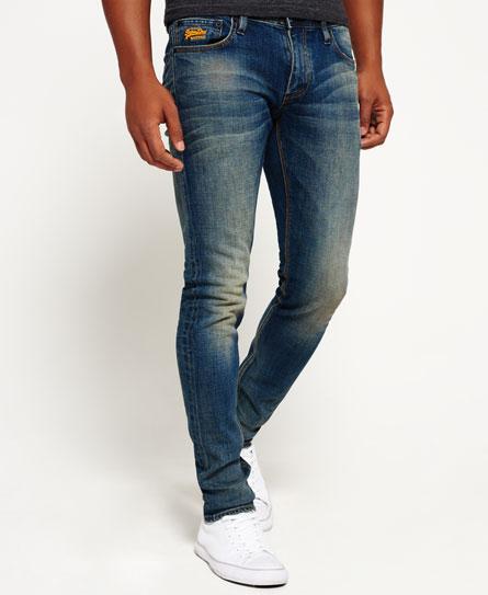 blu intenso Superdry Jeans Skinny