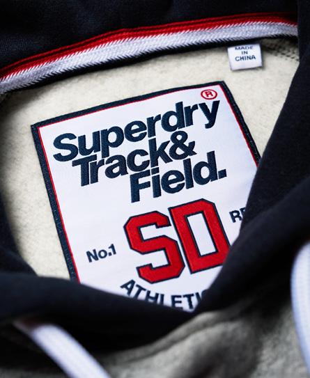 Superdry Trackster baseball-hættetrøje