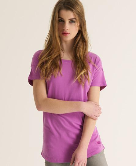 Superdry Oversized T-shirt Purple