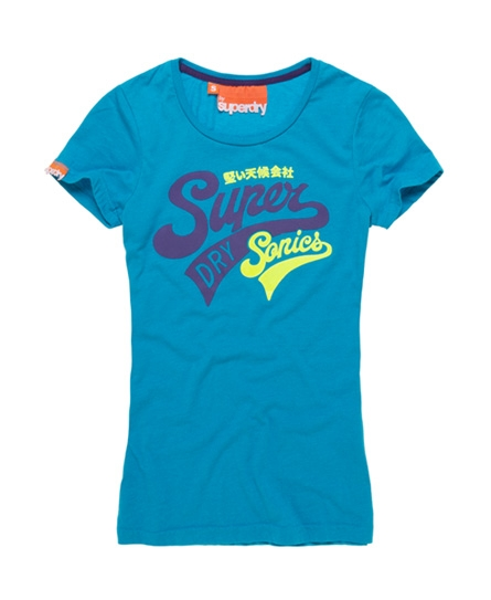 Superdry Supersonics T-shirt Blue