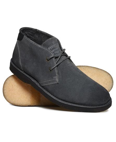 Superdry Premium Rallie støvler Mørkegrå