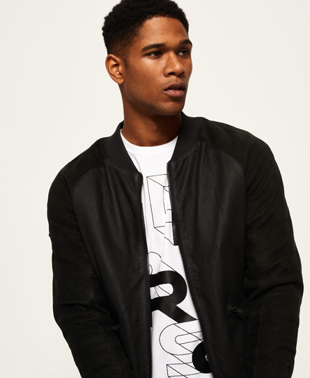 Superdry IE Iconic Contrast Baseball Bomber
