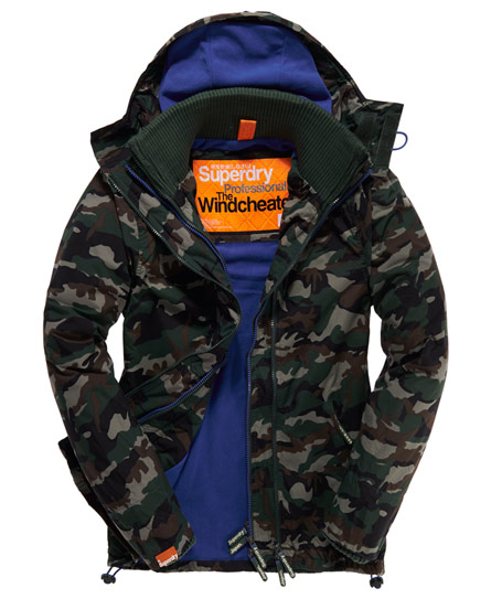 mens arctic windcheater in army camo royal superdry. Black Bedroom Furniture Sets. Home Design Ideas