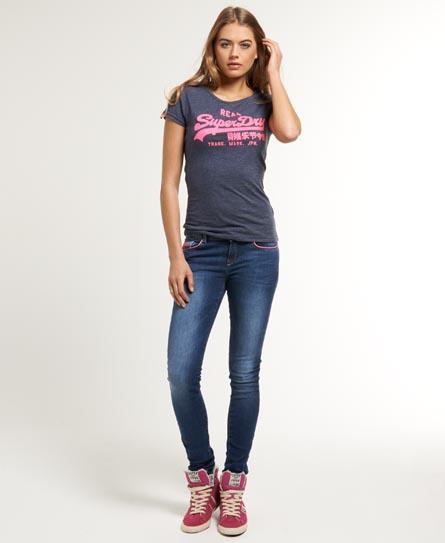 Superdry AlexiaBlaumidnight Damen Superdry Damen Jeans SkyW26l32 8n0OPkw