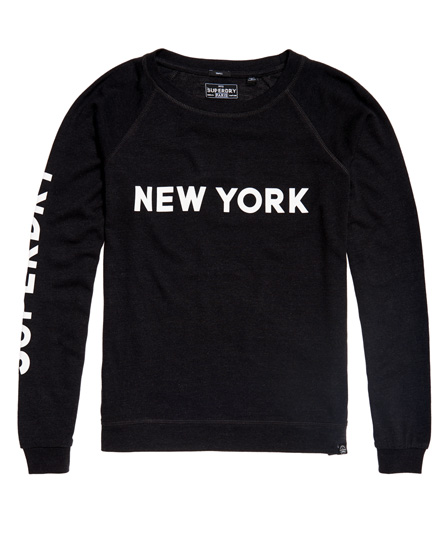 Superdry Pull ras du cou New York City